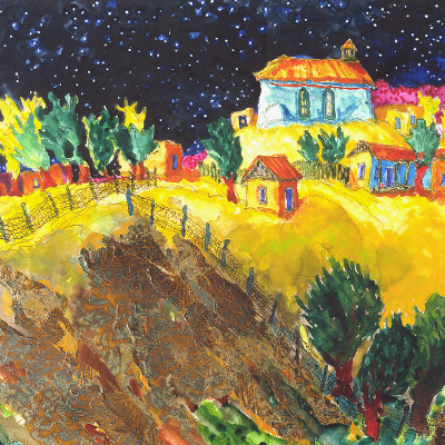 Loma De Oro painting