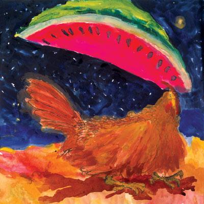 Fiesta De Sandias painting
