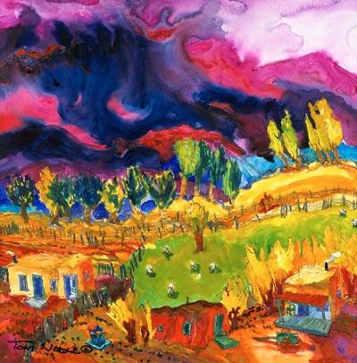 Llano Lejano painting