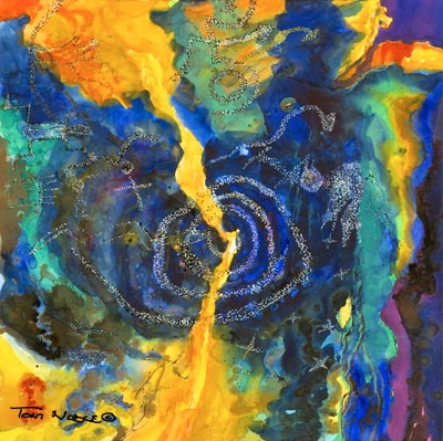 Sun Daggers painting